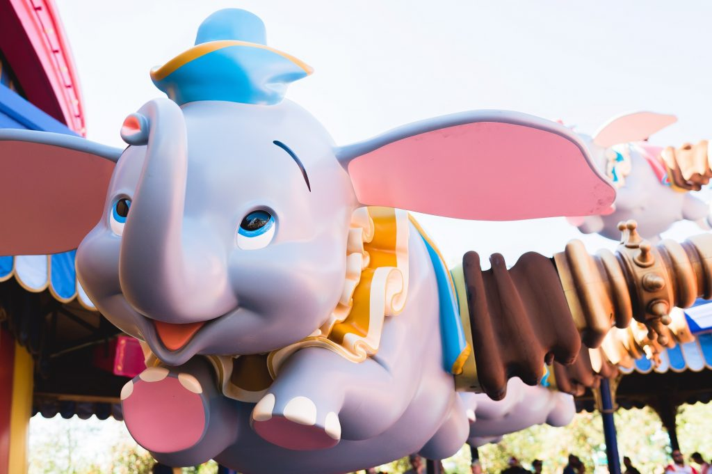 Dumbo the Flying Elephant at Disney World